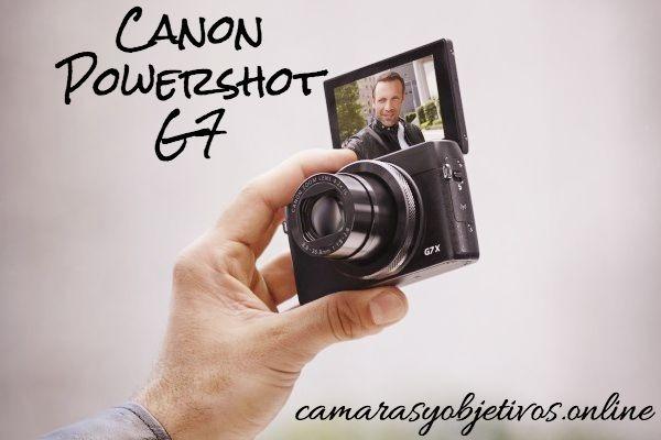 Oferta cámara g7 de Canon modelo Powershot