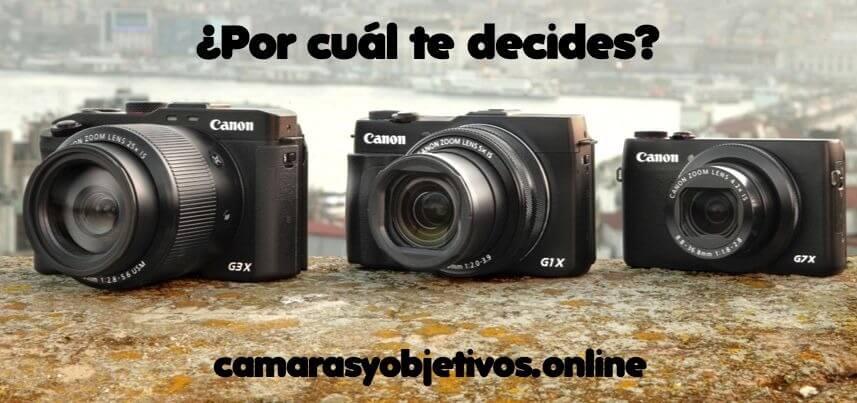 Cámaras Canon G