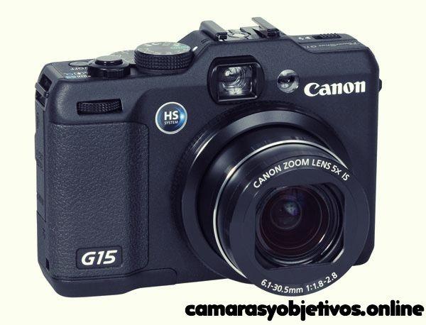 Características Canon G15