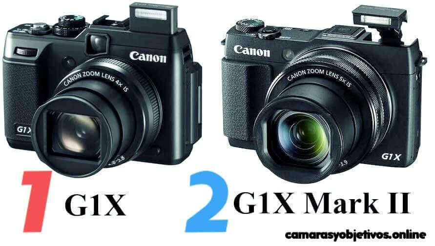 Mark II G1X cámara compacta