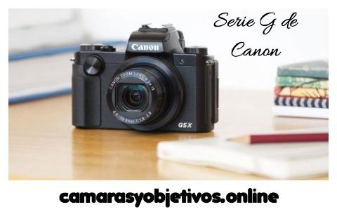 modelo G de Canon Powershot