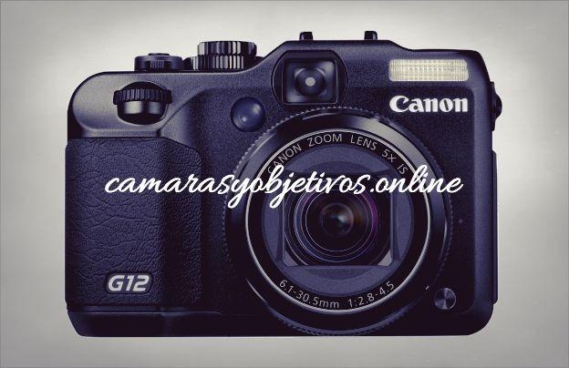Canon cámara Powershot G12