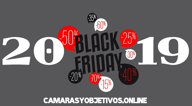 Black Friday cámaras y objetivos